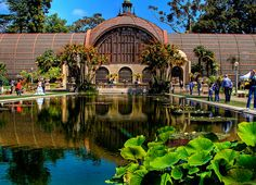 san diego Botanical Gardens-beautiful what a great place to rollerskate.