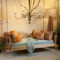 Swinging day beds...One of the best outdoor products by Lowcountry Originals…