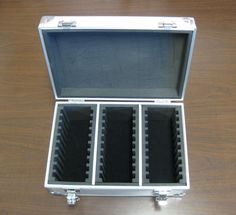 Aluminum 30 Slab storage box