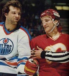 Dave Semenko & Tim Hunter - Classic Rivalry