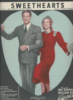 Duet of the Title song by Jeanette MacDonald and Nelson Eddy - Escano Collection