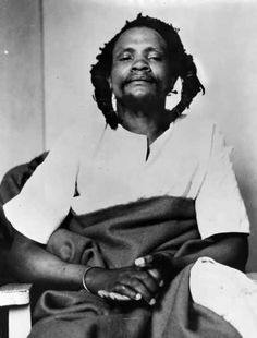 Dedan Kimathi Waciuri (1920 – 1957) was a leader of the Mau Mau which led an armed military struggle known as the Mau Mau uprising against the British colonial government in Kenya in the 1950s. He was captured in 1956 and executed by hanging in 1957.
