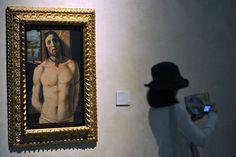 Il Cristo alla colonna, 1480-1490. Pinacoteca di Brera. Milano