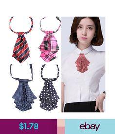 Formal Commercial Bow Tie Women Cravat Silk Waitress Neck We Dress Neck Designs, Collar Designs, Blouse Designs, African Wear, African Fashion, Sewing Clothes, Diy Clothes, Women's Neck Ties, Women Bow Tie