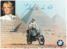 So pumped to find some sick photos of Jutta Kleinschmidt racing the Paris-Alger-Dakar in 1988!