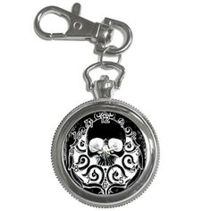 Pocket Watch by ShayneoftheDead Gothic Accessories, Jewelry Accessories, Fashion Accessories, Skull Fashion, Dark Fashion, Skull Jewelry, Jewlery, Gothic Beauty, Gothic Art
