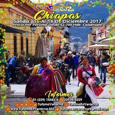 Viajemos a #Chiapas este próximo 15 de diciembre saliendo de #Veracruz donde visitaremos algunos lugares como El Cañón Del Sumidero, San Cristóbal de las Casas y muchos otros lugares.   ¡ Reserva Tu Lugar YA ! Más información en: Tels: 01 (229) 150 83 16 WhatsApp: 2291476029 Email: turismoenveracruz@gmail.com http://www.turismoenveracruz.mx/2017/09/3-dias-y-2-noches-en-chiapas-saliendo-de-veracruz-este-15-de-diciembre-2017/