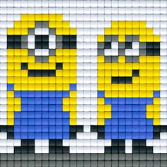 Minions pattern - Pixel Party