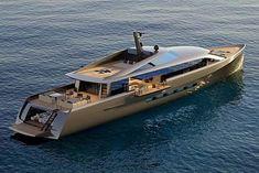 Yacht Design, Boat Design, Luxury Sailing Yachts, Big Yachts, Luxury Boats, Speed Boats, Power Boats, Expensive Yachts, Yatch Boat