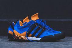 "adidas Terrex Swift Solo ""Blue/Orange"" - EU Kicks: Sneaker Magazine"