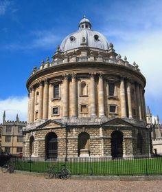 Radcliffe Camera. Oxford, England