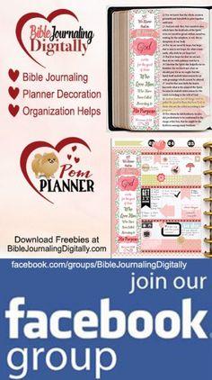 Bible Journal Facebook Group