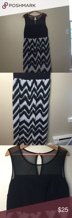 Chevron lamp shade black and white dresses
