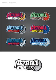 Netball Whistlers Logo Designs