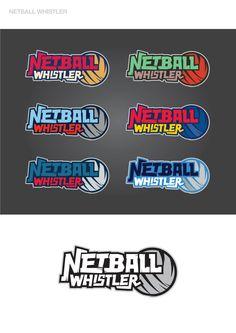 Netball Whistlers Logo Designs