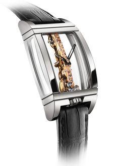 466bca1b364 corum golden bridge titanium Corum Watches