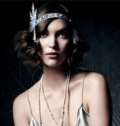 The Great Gatsby Headpiece, Downtown Abbey 1920's Headband, Art Deco Flapper Headband, Wedding Headband, Vintage Style, Great Gatsby di SpecialTouchBridal su Etsy https://www.etsy.com/it/listing/204165610/the-great-gatsby-headpiece-downtown
