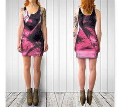 STRONG WOMAN  Bodycon Dress by JUST3Js on Etsy