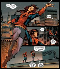 Mary Jane takes off in Amazing Spider-Man #673
