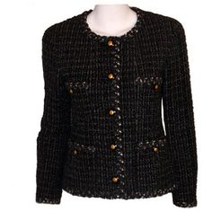 #Chanel Tweed Jacket #elclasico #classic #fashion