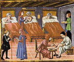LEKARZE W ŚREDNIOWIECZU. Medycyna ówczesna znacznie różniła się od współczesnej. Lekarze wtedy i dziś w jednym byli podobni: na ogół świetnie zarabiali.