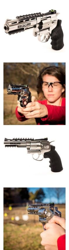 BBs and Pellets 178889: 4 Co2-Powered Bb Revolver, 410 Fps, Chrome -> BUY IT NOW ONLY: $111.57 on eBay!
