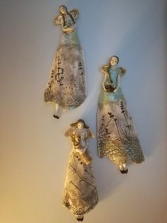 Anioły z fochem #ceramika #ceramics #anioł #angel #rękodzieło #handmade #art