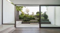 Small Terrace, Terrace Garden, Light Architecture, Contemporary Architecture, Conservatory Extension, Contemporary Windows, Garden Levels, Stuttgart Germany, Basement Windows