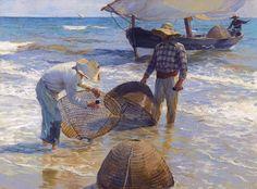 Le Musée des impressionismes de Giverny consacre une exposition au peintre valencien Joaquim Sorolla jusqu'au mois de novembre.