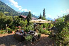 Gatterhof mit wunderschöner Gartenanlage zum Relaxen und Entspannen #Gartenanlage #sommerurlaub #austria östereich #osterijk #autriche #kleinwalsertal #riezlern
