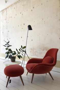 Space Copenhagen designed Swoon to fill the gap between a conventional lounge chair and a typical armchair – for use in lounge areas as well as private homes. Copenhagen Design, Space Copenhagen, 11 Howard Hotel, Lounge Areas, Fill, Ottoman, Armchair, Gap, Relax