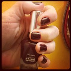 """Sally Hansen @Sally Hansen Complete Salon Manicure Influenster Vox Box """"Red my Lips"""", """"Pat on the Black"""" & """"Jaded"""".. LOVE this easy to apply, glossy, quick drying & long wearing collection. Thank you @InfluensterVox for sending me these to review #influenstervoxbox #sallyhansen #CSMTKO #redmylips #jaded #patontheblack"""