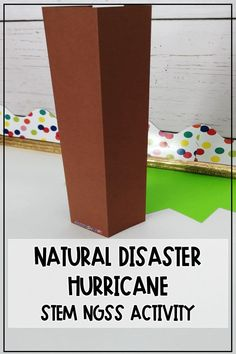Hurricane   Natural Disaster   This activity can be sent to students digitally as they navigate homeschool and work on NGSS skills. Use this as a project from an extreme weather or natural disaster science unit. Digital learning can include a STEM activity to keep hands on learning alive at home and take computer technology break. #homeschool #ngss #Stem Earth Science Activities, Science Resources, Hands On Activities, Stem Activities, Science Fun, Middle School Teachers, Middle School Science, Hurricanes For Kids, Weathering And Erosion