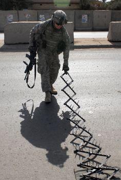 US Army Spike Strip