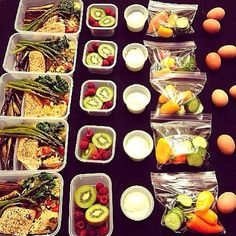 """@instafemmefitness's photo: """"How's this for meal prep?? Found from @instagramfitness of @drmorrow85's meal prep skills!! """""""