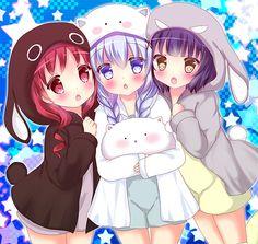 [Kawaii]The younger sisters I wish I had [Gochuumon wa Usagi Desu Ka?]
