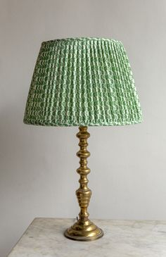 Green Lamp Shade, Lamp Shades, Bedroom Lampshade, Georgian Kitchen, Caribbean Homes, Interior Staircase, Copper Frame, Soft Furnishings, Light Fixtures