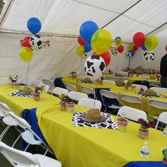 Cowboy toy story party