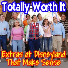 Extra options at Disneyland that are worth it. The BBB, tours, character dining and more.