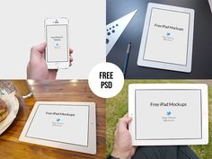 Free iPad & iPhone 5s Mockups - PSD by Regy Perlera