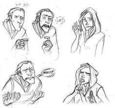 snowbia:  Lucius finds out what Narcissa did. So lovely <3 Art by Makani
