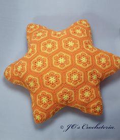joscrocheteria | starfishafricanflowerfreecrochetpattern