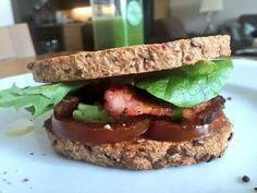 Victoria Justice, ... ... ... ... ... ... ...  ‏@VictoriaJustice  10 hours ago  ...   Just made the tastiest BLAT on gluten free bread!! What's a BLAT you ask? It's bacon, lettuce, avocado & tomato