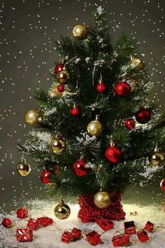 Wallpaper iPhone/holidays/new year/happy/merry Christmas ⚪ Animated Christmas Tree, Christmas Tree Wallpaper, Live Christmas Trees, Christmas Tree Pictures, Christmas Tree Themes, Christmas Candles, Merry Christmas And Happy New Year, Christmas Art, Christmas Holidays