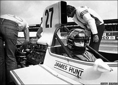 """""""To hell with safety. All I want to do is race"""" - James Hunt."""
