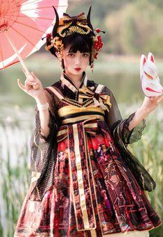 Harajuku Fashion, Lolita Fashion, Fashion Outfits, Fashion Boots, Japanese Fashion, Asian Fashion, Rock Fashion, Poses, Vestidos Anime
