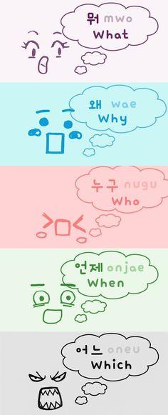 Learn Basic Korean, Learn Japanese Words, How To Speak Korean, Korean Words Learning, Japanese Language Learning, Korean Phrases, Korean Quotes, Learn Korean Alphabet, Korean Letters
