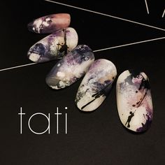 Pin by Brit Mina on Nail Beauty in 2019 Japan Nail Art, Japan Art, Japan Japan, Cute Nails, Pretty Nails, Korea Nail, Romantic Nails, La Nails, Japanese Nails