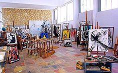 Miró´s studio