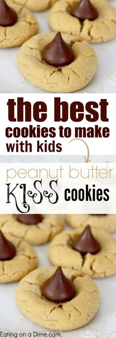 This Peanut Butter Kiss Cookies Recipe is seriously one of the best cookies recipe. Loved by all it is delicious and easy to make!